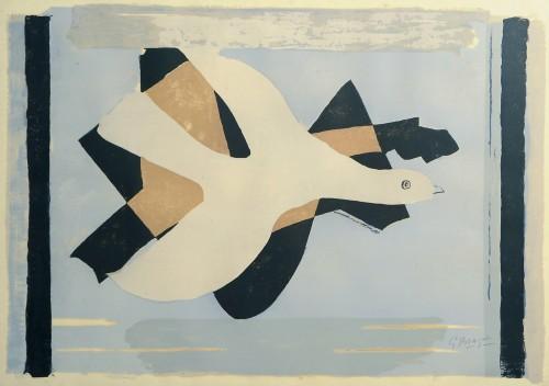 Braque L'oiseau et son ombre 1 Litho 1959.jpg