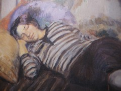 Brunin André, La sieste (détail).JPG