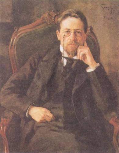 Tchekhov Portrait par Ossip Braz en 1898.jpg