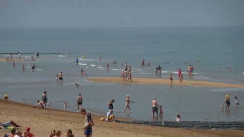 Ostende,mer,sable,plage