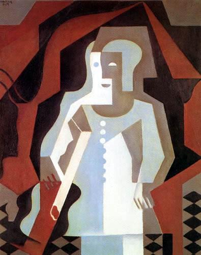 Juan Gris, Pierrot.jpg