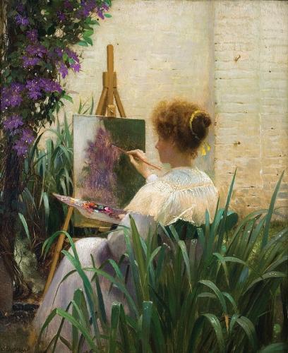 peinture,art,culture,peintre belge,louise héger