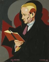 Maes Karel Homme lisant 1927.jpg