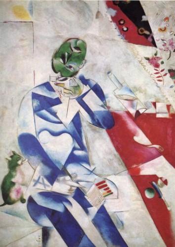 Chagall, Le poète, trois heures et demie (Musée d'art de Philadelphie).jpg