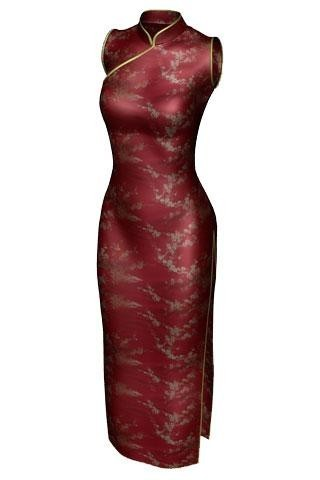 Qipao, robe traditionnelle chinoise.jpg