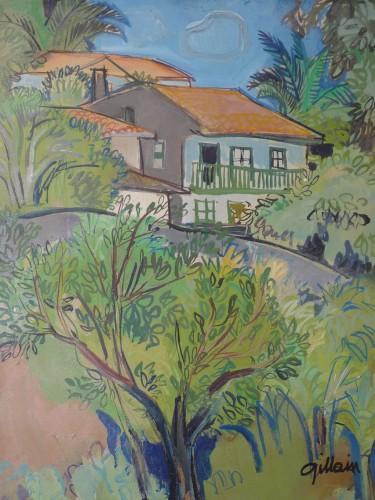 Gillain Maison au pays basque (détail).JPG