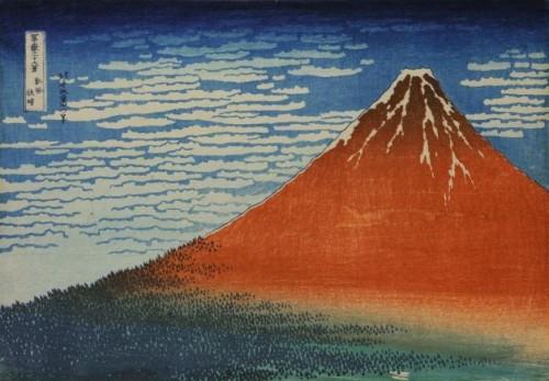 hokusai,exposition,bruxelles,trente-six vues du mont fuji,paysages,estampes,japon,culture