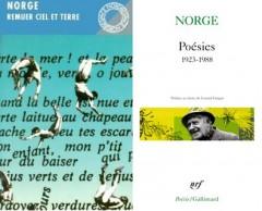 norge,oeuvres poétiques,littérature française,belgique,écrivain belge,poésie,langage,culture