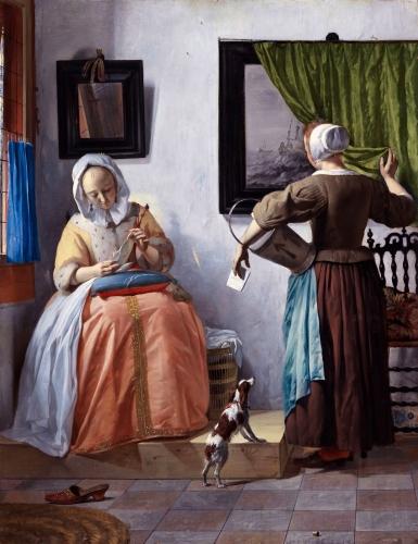daniel arasse,l'ambition de vermeer,essai,littérature française,vermeer,peinture hollandaise,intérieur,intimité,art de la peinture,culture,tableau dans le tableau