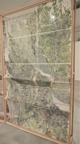 elise peroi,art textile,exposition,là où se trouve la forêt,botanique,bruxelles,memymom,photographie,culture