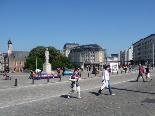Mont des arts (Place de l'Albertine).JPG