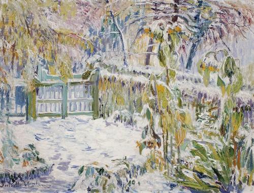 Wytsman Juliette Tournesols sous la neige.jpg
