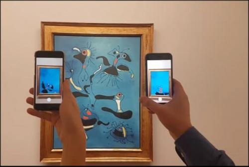 musée,peinture,application,nouvelles technologies,audioguide,réalité augmentée,culture,regard