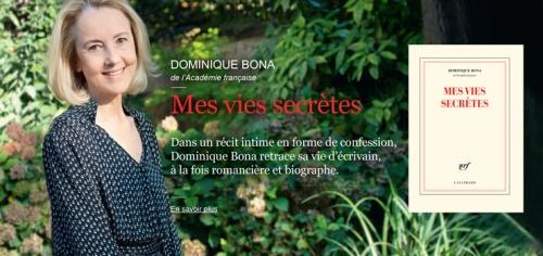 bona,mes vies secrètes,essai,autobiographie,rencontres,biographe,écriture,art,culture