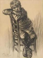 Dumoulin Roméo 1883-1944 L'enfant à la chaise.JPG