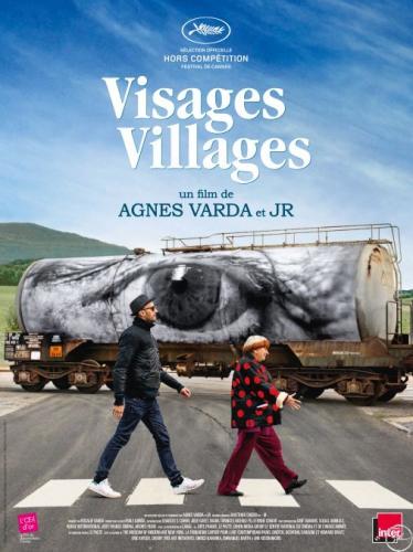 varda,agnès,jr,visages villages,film,documentaire,photographie,street art,portrait,rencontre,société,france,culture