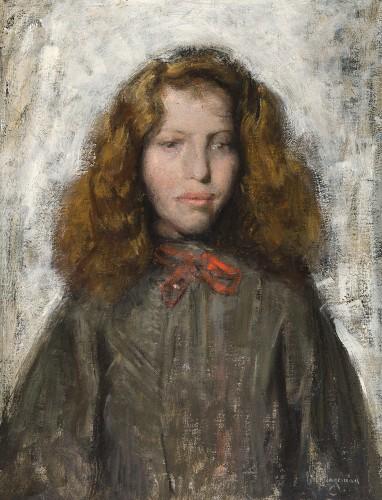 HAGEMAN Victor 1868 - 1928 Fillette.jpg