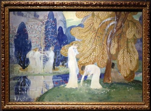 montald,constant,peintre belge,exposition,1982,la médiatine,verhaeren,amitié,femmes artistes,symbolisme,eden,nature,beauté,paysage,harmonie,culture