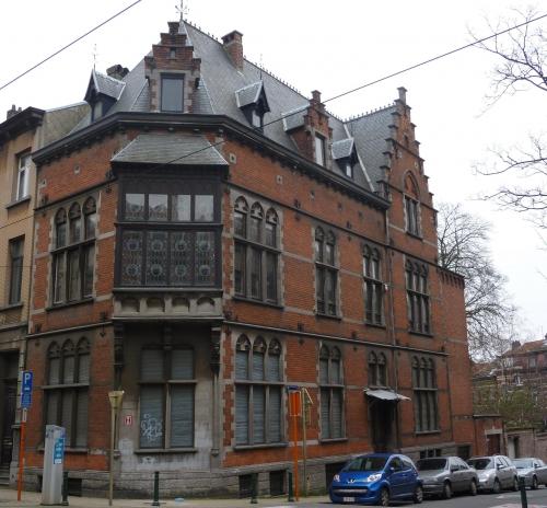 estivales,2015,schaerbeek,visite guidée,patris,maison classée,néo-renaissance flamande,éclectisme,architecture,1890,culture