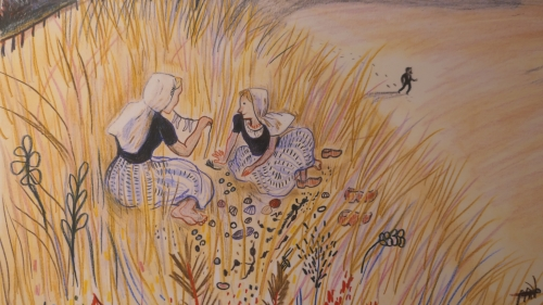 kitty crowther,jan toorop,le chant du temps,littérature,jeunesse,dessin,illustration,exposition,schaerbeek,bibliothèque sésame,europalia,indonésie,art,culture