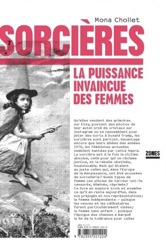 mona chollet,sorcières,la puissance invaincue des femmes,essai,littérature française,chasse aux sorcières,indépendance,maternité,vieillesse,vision du monde,féminisme,culture