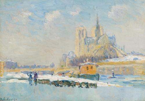 ALBERT LEBOURG 1849 - 1928 ND et le quai de la Tournelle.jpg
