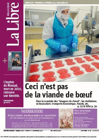 La Libre 15 2 2013.jpg