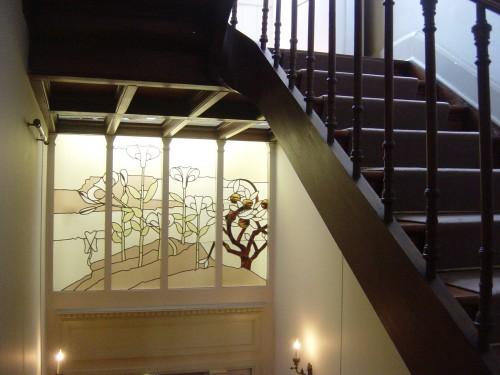 Maison Autrique, Cage d'escalier.JPG