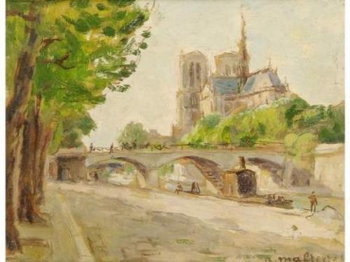 André MALTERRE 1889 Les berges et NDame.jpg