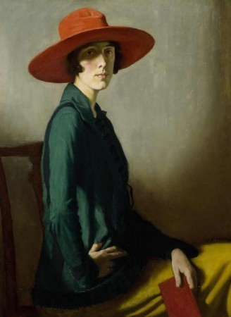 Femme au chapeau rouge (William Strang).jpg