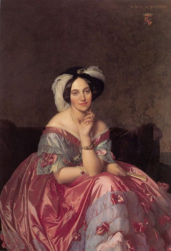 Ingres, Portrait de la baronne James de Rothschild (wikimedia commons).jpg