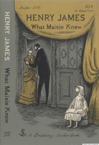 henry james,ce que savait maisie,roman,littérature anglaise,divorce,garde de l'enfant,culture