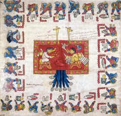 Codex Borbonicus sur Wikimedia commons.jpg