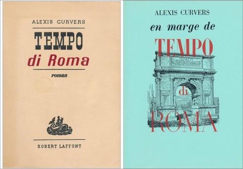 curvers,tempo di roma,roman,littérature française,belgique,écrivain belge,italie,rome,guide touristique,beauté,art,culture
