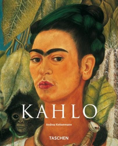 Kahlo, Autoportrait au petit singe (détail) (couverture Taschen).jpg
