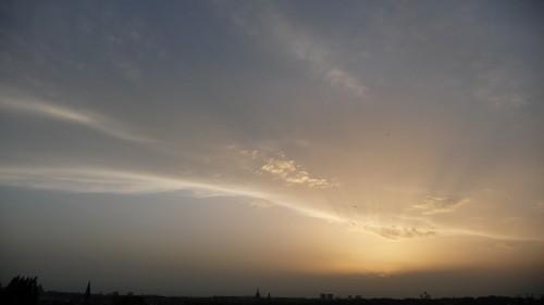 soir,juin,été,couchant,ciel,nature,paix