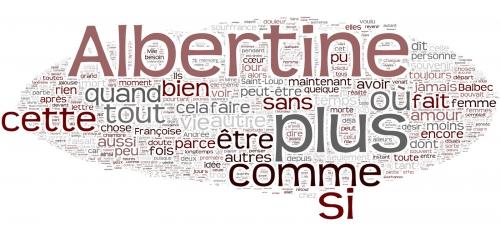 Proust Nuage de mots Albertine.jpg