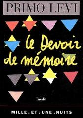 Primo Levi, Le devoir de mémoire.jpg