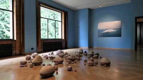 melancholia,exposition,villa empain,fondation boghossian,peinture,culture,textile,installations,art contemporain,art moderne