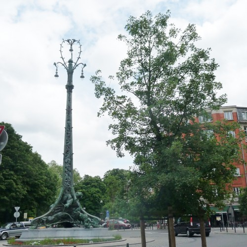 lalaing,mât électrique,sculpture,lampadaire,bruxelles,1030,schaerbeek,patrimoine,balade,culture