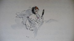 gautier,le petit chien de la marquise,nouvelle,litérature française,bibliophilie,dessins,louis morin,édition ancienne,conquet,culture