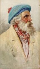 Hay, Bernard Portrait of an old beardy gentleman 1864 Florence.jpg