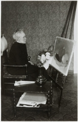 Schjerfbeck à son chevalet photo.jpg