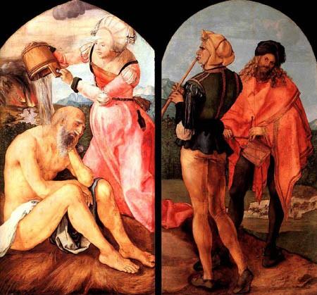 Dürer, Job moqué par sa femme.jpg
