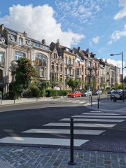 avenue demolder,urbanisme,plantations,patrimoine,culture,schaerbeek