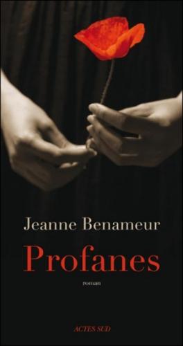 jeanne benameur,profanes,roman,littérature française,culture