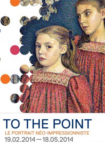 to the point,portrait,néo-impressionnisme,exposition,espace ing,bruxelles,peinture,seurat,signac,laugé,van de velde,lemmen,van rysselberghe,couleurs,culture