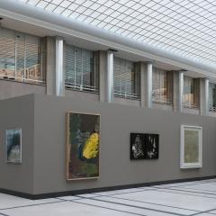 building a dialogue,exposition,art,peinture,bruxelles,banque nationale de belgique,deutsche bundesbank,art contemporain