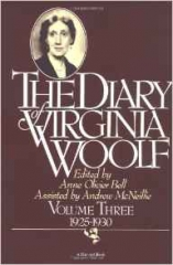 woolf,virginia,journal,tome 3,1928-1930,littérature anglaise,culture