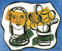 Léger Fernand, Femme et plante.jpg
